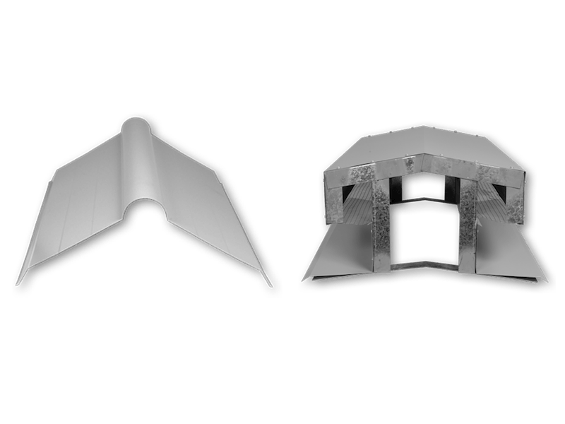 Ridge Caps Available From Metroll