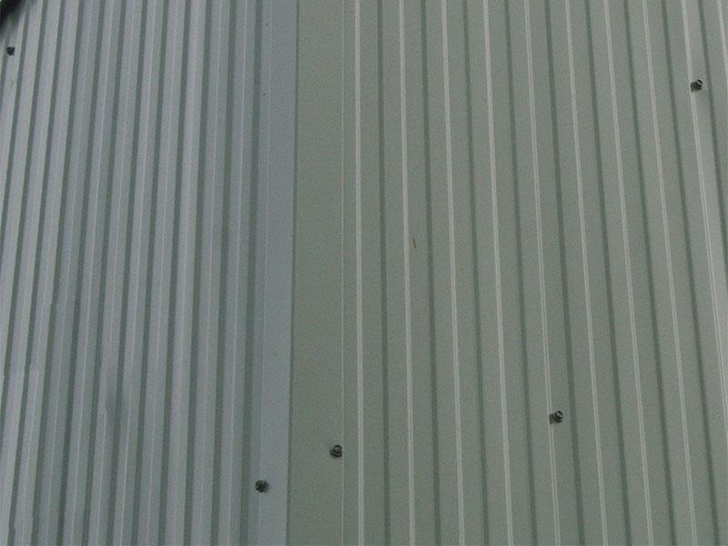 Metrib® Low Profile Cladding in situ on a wall