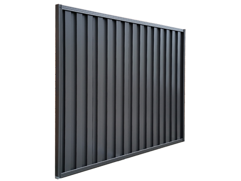 Angled image of full panel of Atlas fencing from the MAC Range