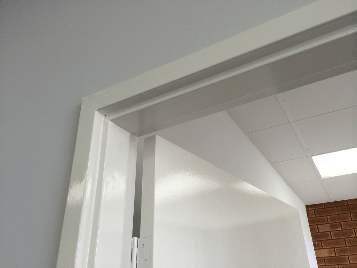 Architectural and residential metal door frames