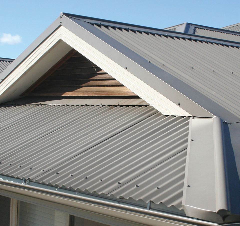 Close up image of house roof made from Corodek®