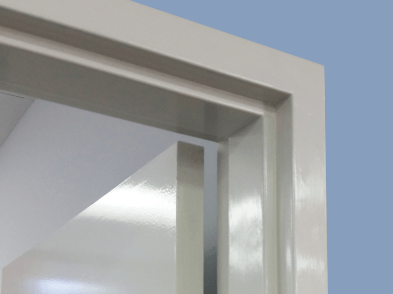 Square Bend Door Frame Metroll