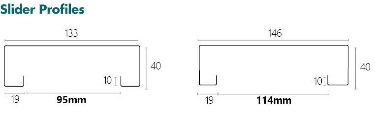 Metroll Square Bend Door Frame Specs Slider Profile