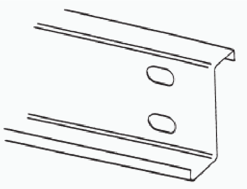 Line Drawing of a Standard Z Section